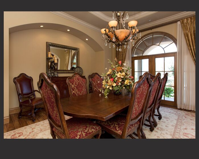 Traditional Dining Room photo by Laura Lee Interiors, llc