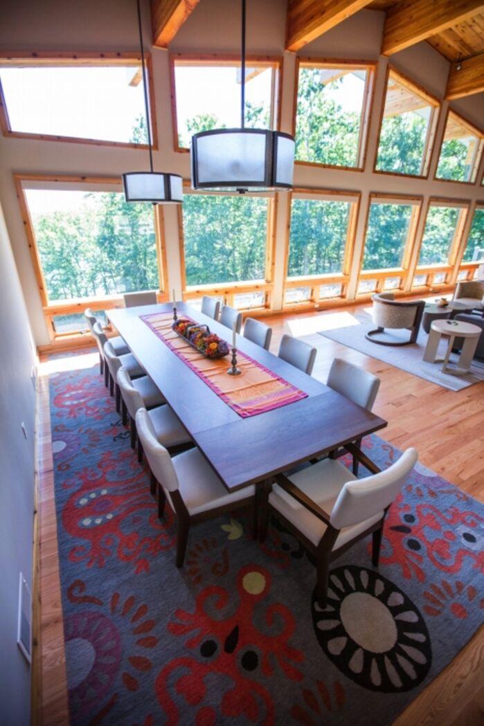 Contemporary Dining Room photo by LA Design Portfolio