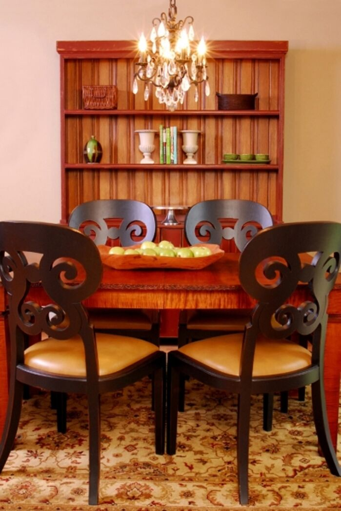 Eclectic Dining Room photo by L.A. Design, LLC