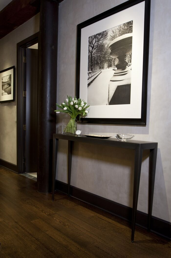 Contemporary Entryway and Hallway photo by Benjamin Cruz Designs