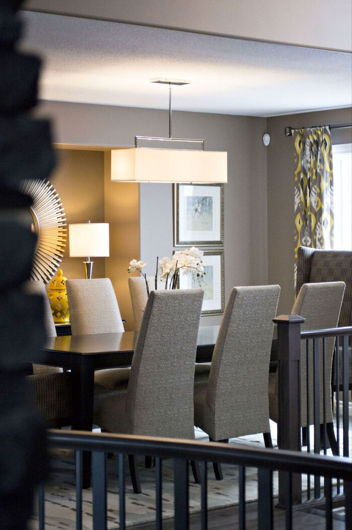 Contemporary Dining Room photo by AMR Design