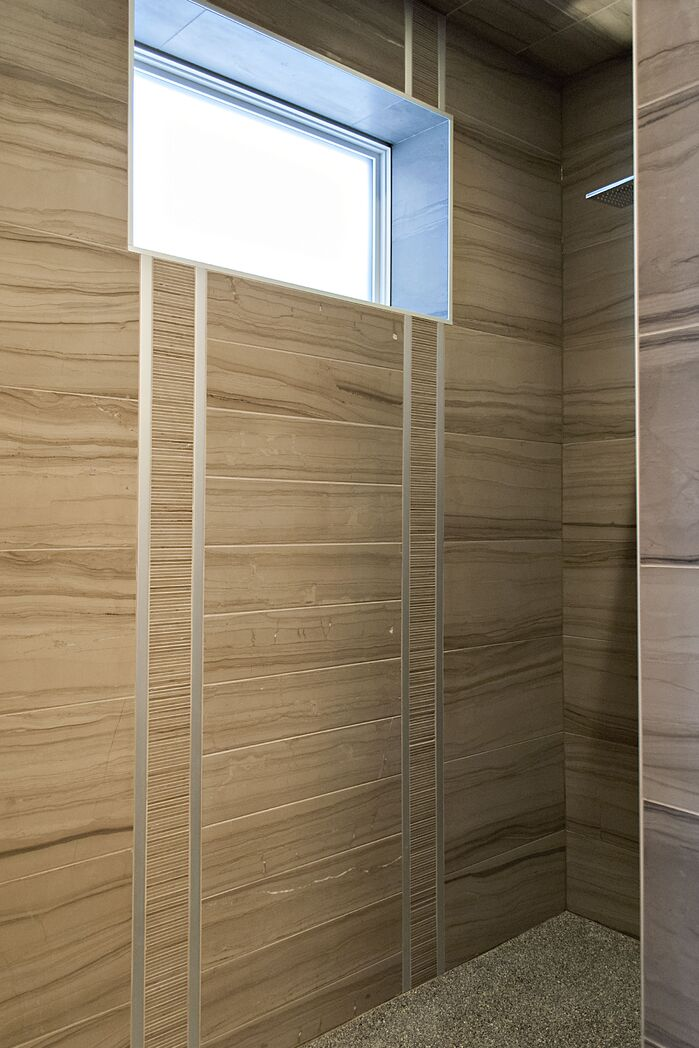 Modern Bathroom photo by AMR Design