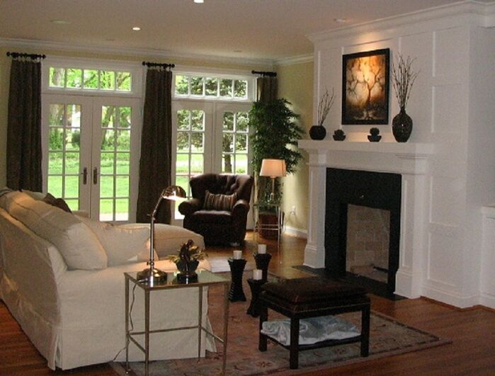 Traditional Living Room photo by Tyson Designs