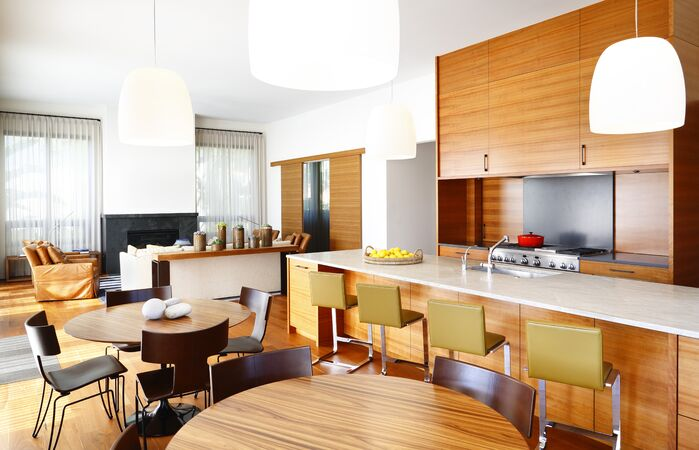 Modern Kitchen photo by Chancey Design