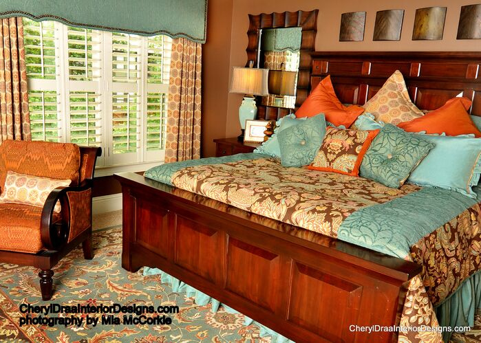 Traditional Bedroom photo by Cheryl Draa Interior Design
