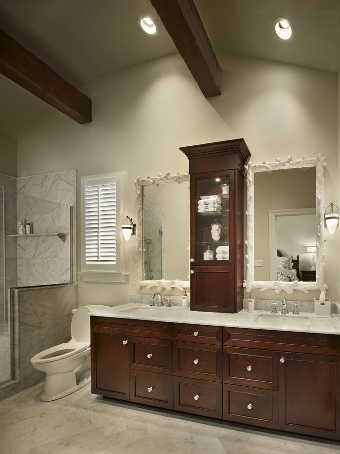 Contemporary Bathroom photo by Joseph A Berkowitz Interiors