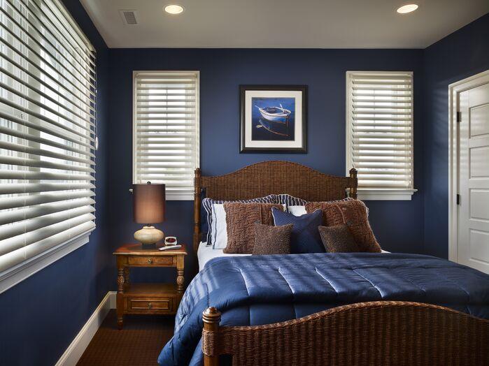 Coastal Bedroom photo by Joseph A Berkowitz Interiors