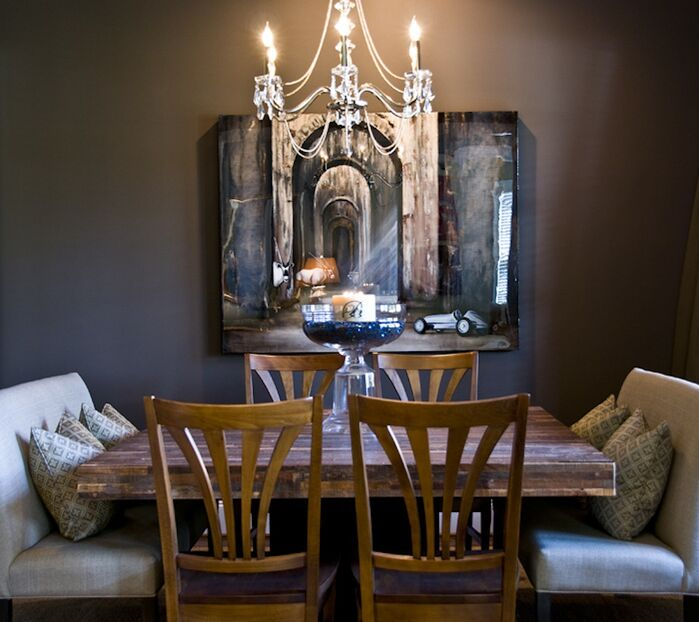 Rustic Dining Room photo by 2 Gays & A Design