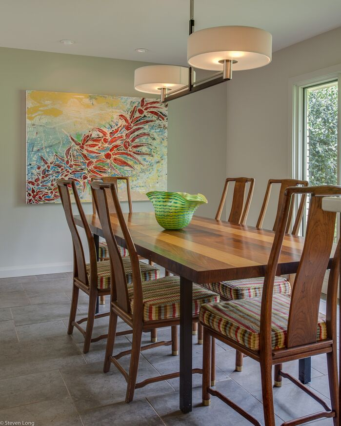 Contemporary Dining Room photo by Connie Long Interiors