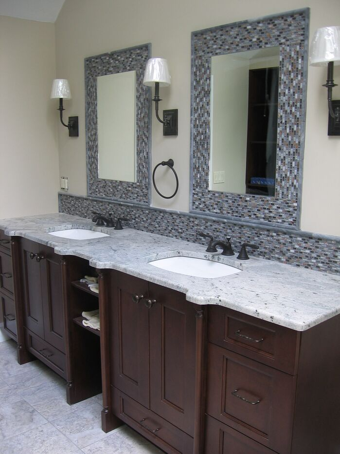 Modern Bathroom photo by LI Designs, LLC