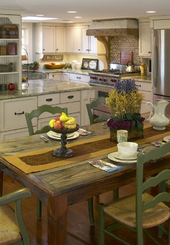 Cottage/Country Kitchen photo by LI Designs, LLC