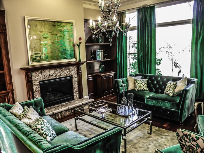 Eclectic Living Room photo by cg creative interiors