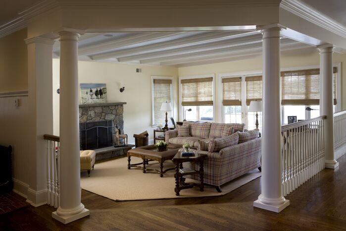 Contemporary Living Room photo by Duneier Design