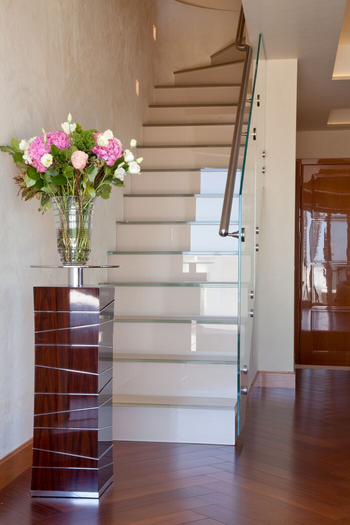Contemporary Entryway and Hallway photo by Duneier Design