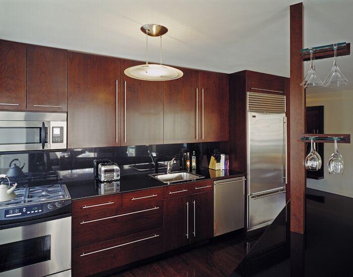 Contemporary Kitchen photo by Lisa Dubin Architect