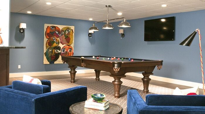 Contemporary Game/Rec Room photo by D2 Interieurs