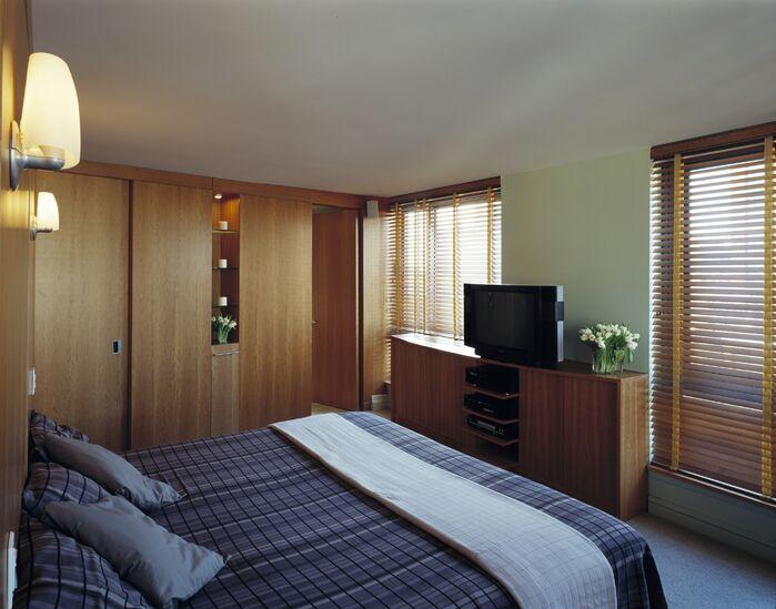 Contemporary Bedroom photo by Lisa Dubin Architect