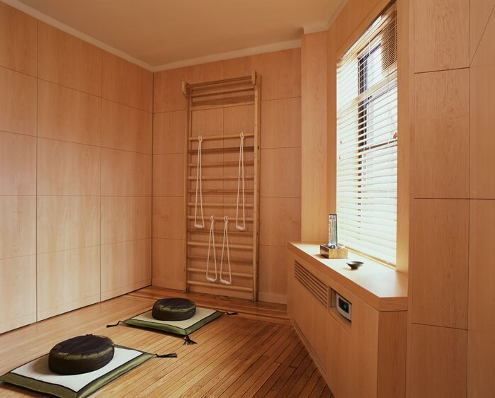 Contemporary Bathroom photo by Lisa Dubin Architect