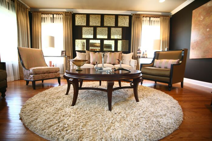 Traditional Living Room photo by FW Interiors