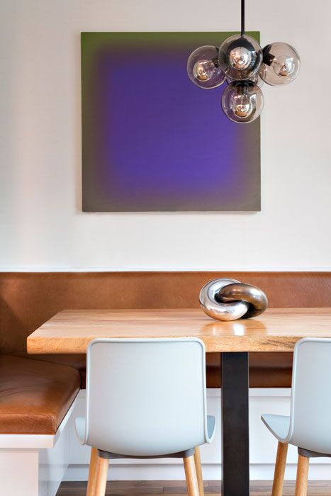 Contemporary Dining Room photo by Elizabeth Bolognino Interiors