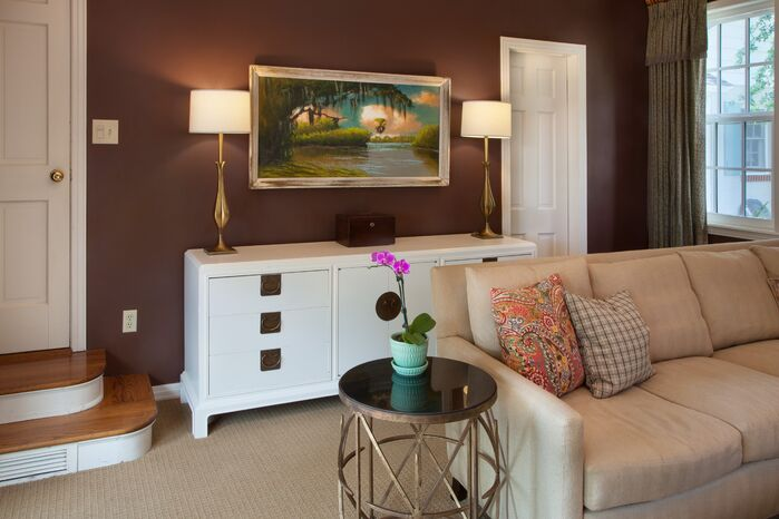 Traditional Living Room photo by Gail Barley Interiors, LLC