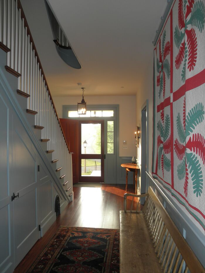 Traditional Entryway and Hallway photo by Martin Rosenblum Architects