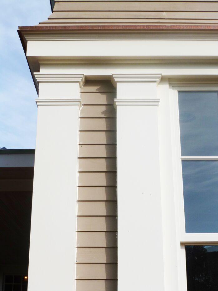 Traditional Exterior/Patio photo by Martin Rosenblum Architects