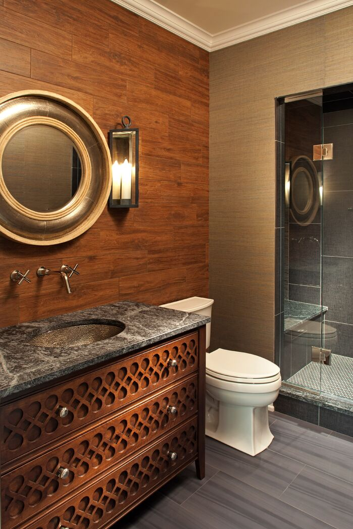 Eclectic Bathroom photo by Hendel Homes