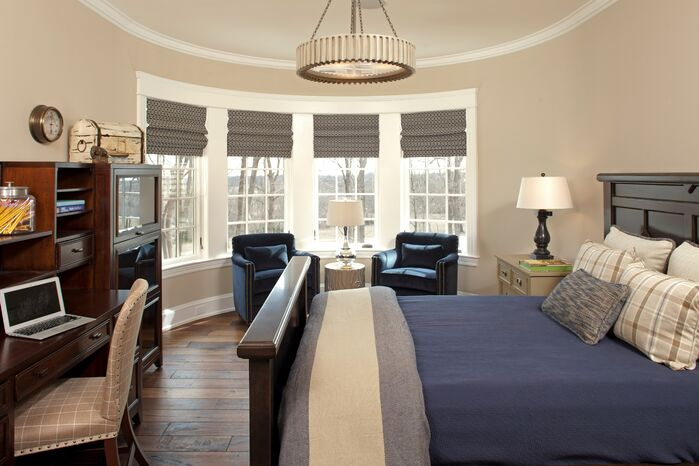Contemporary Bedroom photo by Hendel Homes