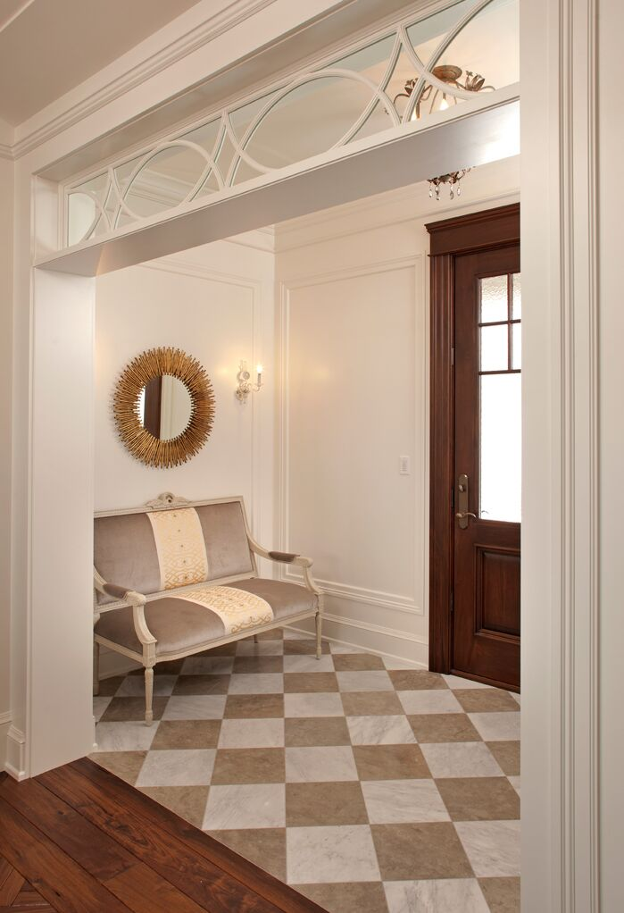 Traditional Entryway and Hallway photo by Hendel Homes