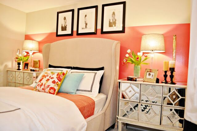Glam Bedroom photo by Nicole White Designs Inc.