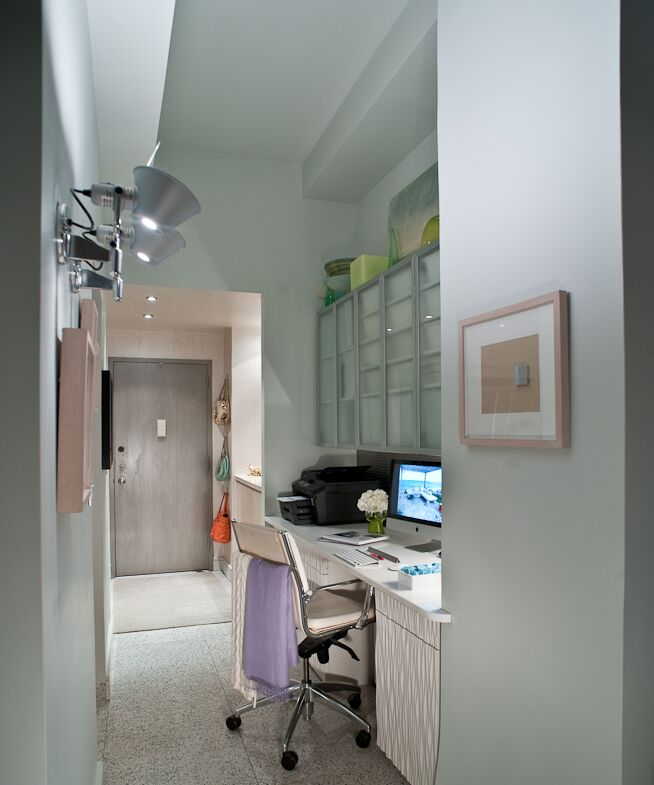 Contemporary Entryway and Hallway photo by FO Design