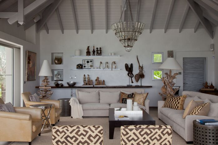 Eclectic Living Room photo by FO Design