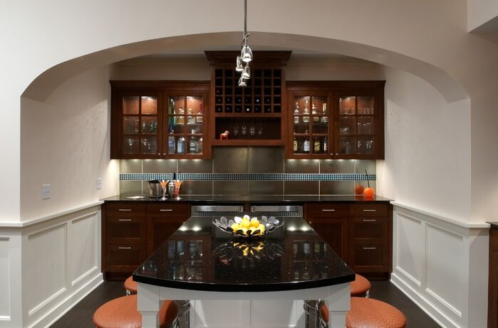 Contemporary Kitchen photo by Marceau Interiors