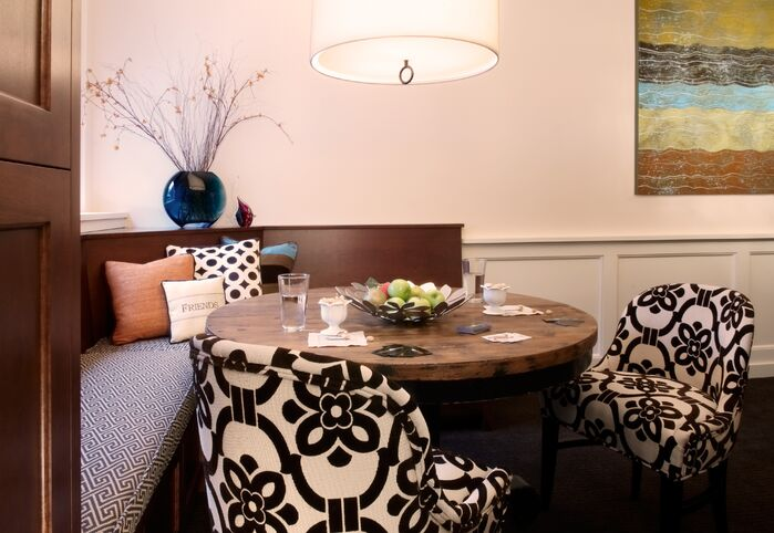 Contemporary Dining Room photo by Marceau Interiors