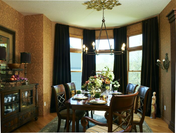 Traditional Dining room photo by Marceau Interiors