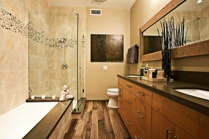 Eclectic Bathroom photo by Shryne Design