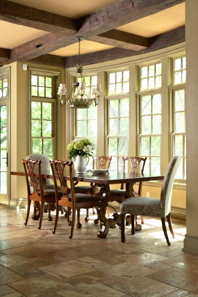 Traditional Dining Room photo by Hendel Homes