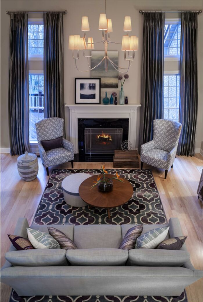 Eclectic Living Room photo by Beckwith Interiors