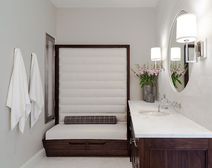 Contemporary Bathroom photo by Beckwith Interiors