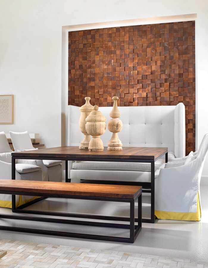 Contemporary Dining Room photo by Beckwith Interiors