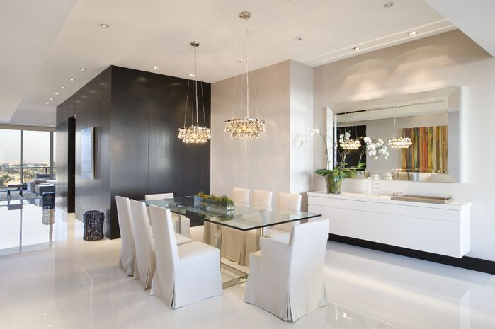 Modern Dining Room photo by SOJO Design