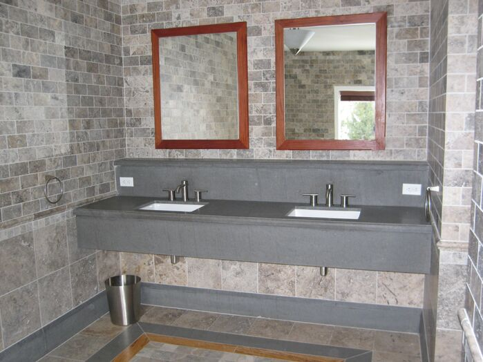 Contemporary Bathroom photo by Pyramid Design Group