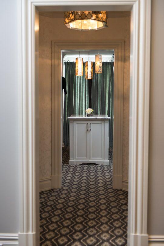 Glam Entryway and Hallway photo by Vanessa Deleon Associates
