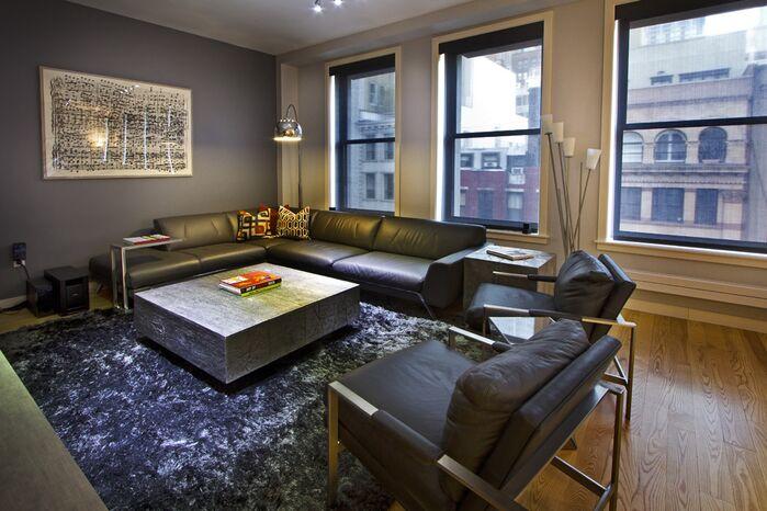 Contemporary Living Room photo by Vanessa Deleon Associates