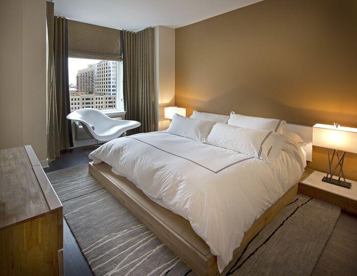 Contemporary Bedroom photo by Vanessa Deleon Associates