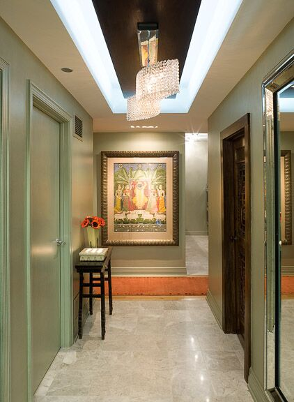 Eclectic Entryway and Hallway photo by Deb Reinhart Interior Design Group, Inc.
