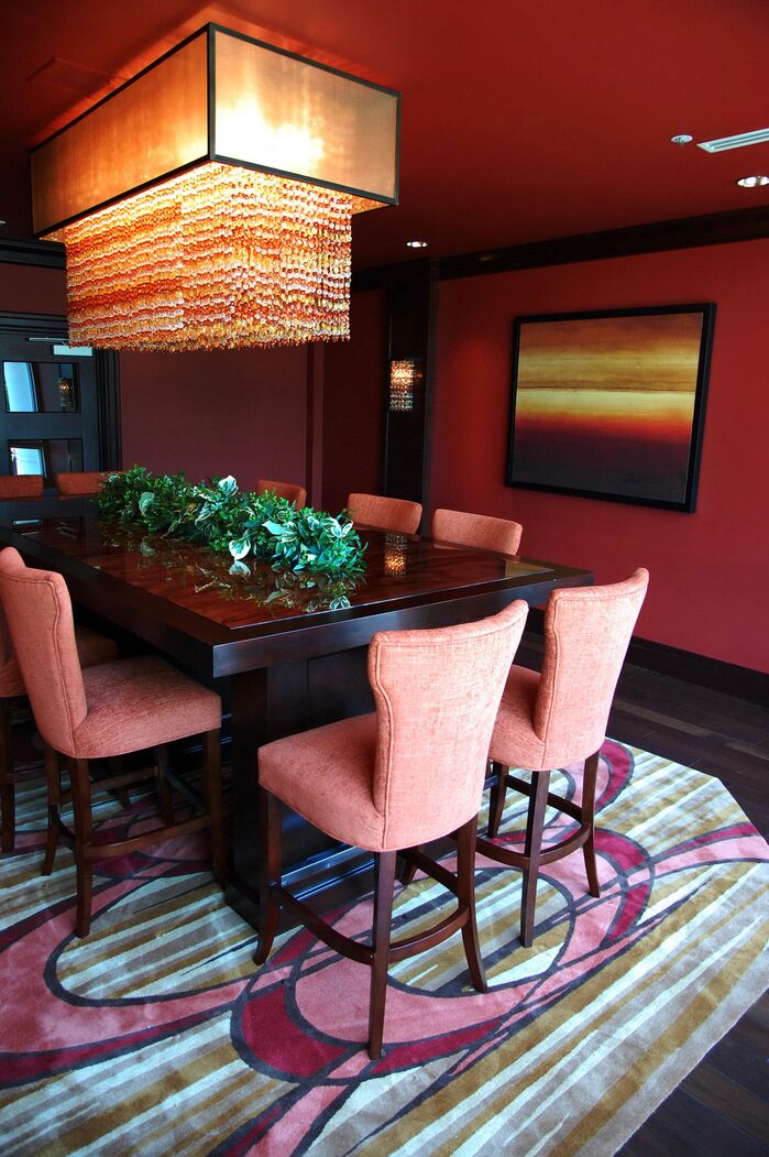 Eclectic Dining Room photo by Club Design Associates