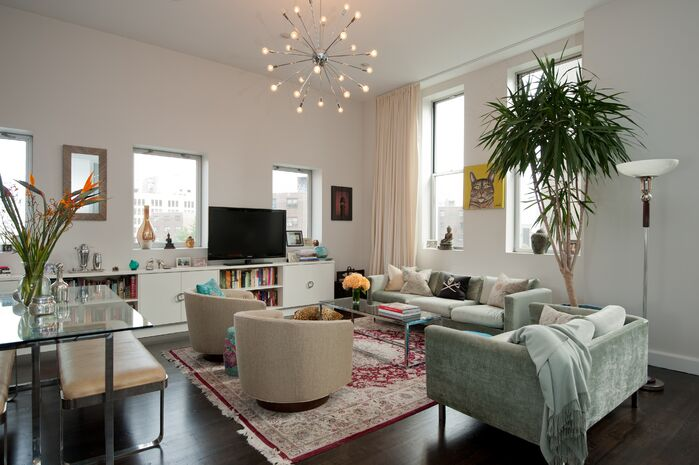 Eclectic Living Room photo by Michele Bitter Designs