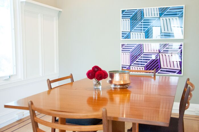 Scandinavian Dining Room photo by CLAYTON APGAR DESIGN LLC